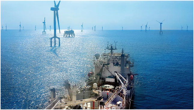 Connecting First French offshore wind farms to mainland