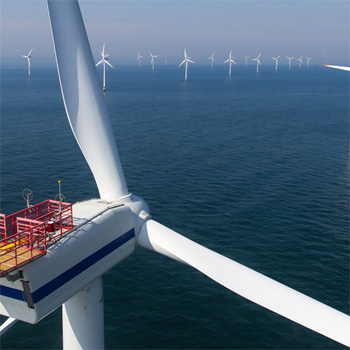 Pioneers in offshore wind projects